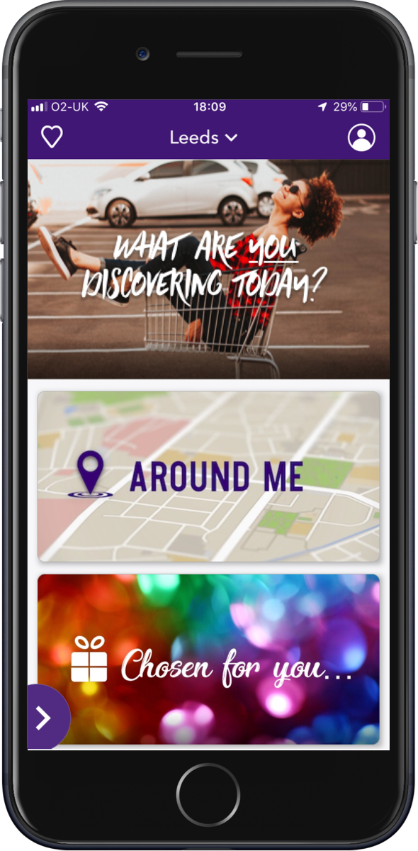 The dscvr app is your own personal assistant for shopping, eating or finding great things to do in your city.
