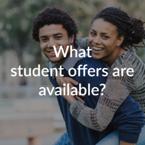 What Student offers are available?